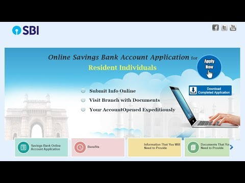 Online Savings Account Opening Form Fill Up Of State Bank Of India (SBI) || Simplified in Hindi