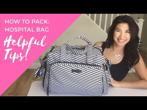HOW TO: Pack for the Hospital, What to Bring for Labor and Delivery of Baby!