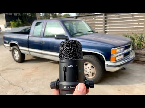 ASMR Chevy Truck Relaxation Video