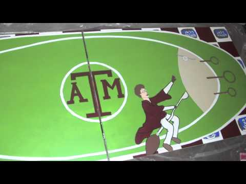 Texas A&M Harry Potter Beer Pong Table