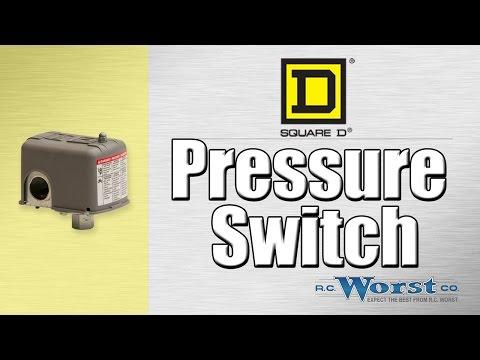 Square D Pressure Switch