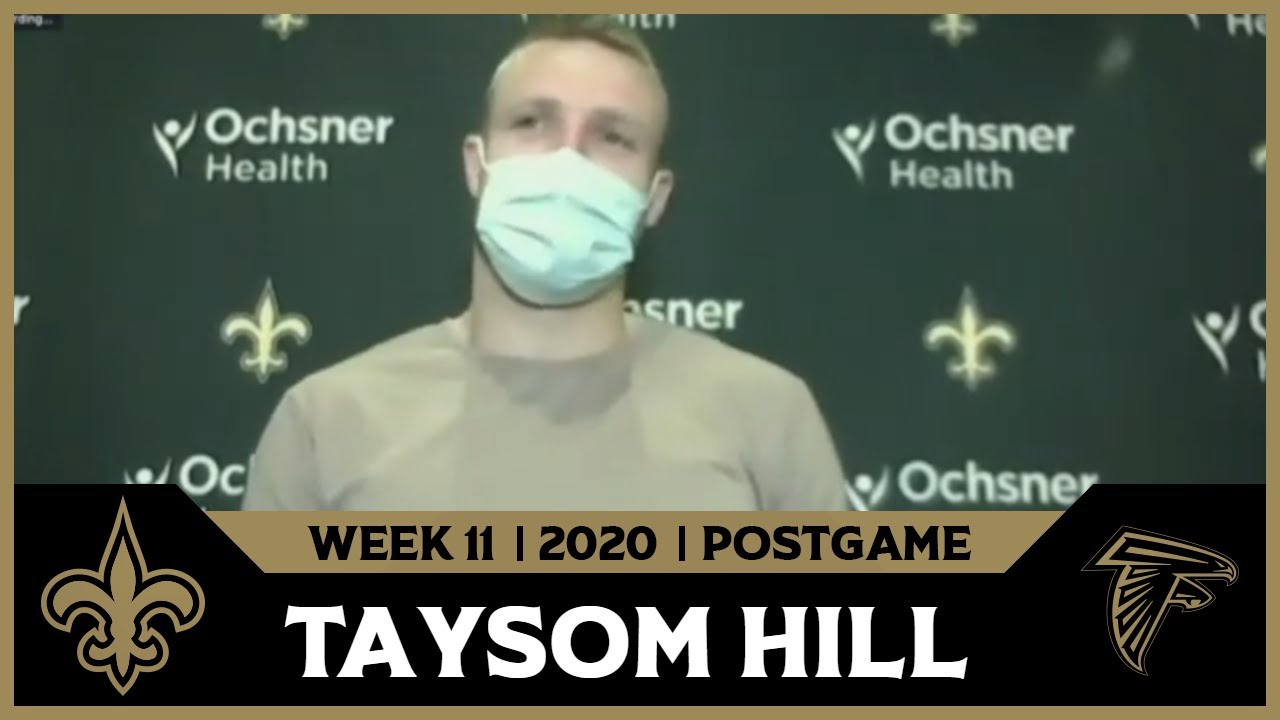 Taysom Hill on Win in 1st Start | Saints-Falcons Postgame | Week 11
