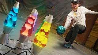 Lava Lamp Pins? | Bowling Destruction!
