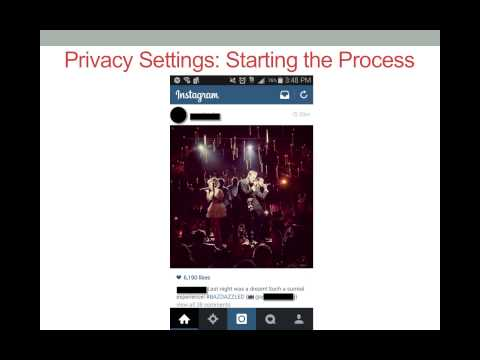 Managing Your Privacy Settings on Instagram