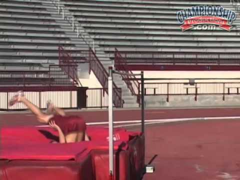 Practice High Jumps with the 2 Step High Jump Drill!
