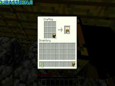 minecraft how to make a book shelf