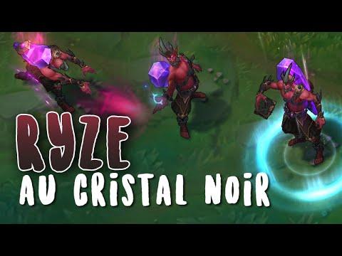 Ryze au cristal noir (refonte)Aperçu Skin League of Legends