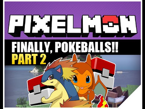 Pixelmon Episode 2 Multiplayer | How To Get Pokeballs | AyChristene & KDJ Minecraft (Pokemon Mod)