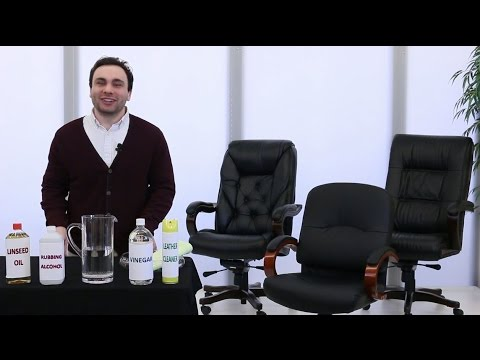 How to Clean a Leather Chair | National Business Furniture