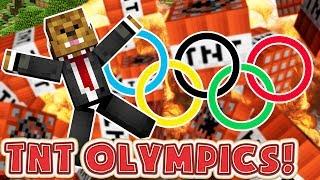 Minecraft TNT OLYMPICS! - Minecraft TNT MINIGAMES!
