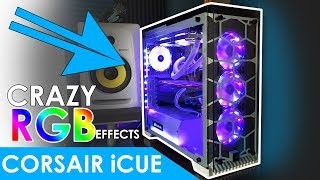 Using Corsair iCue Software to Setup and Configure Multiple RGB