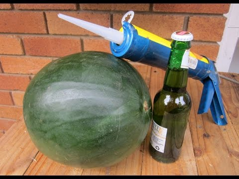 How to Open a Beer with a Watermelon - Episode 2