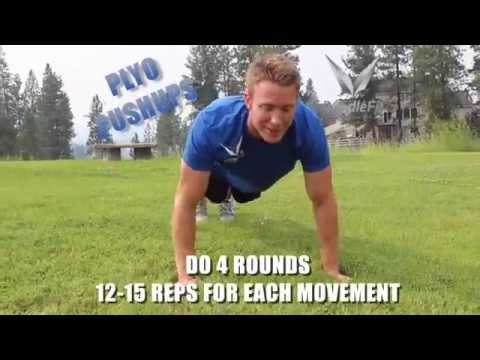 How To Get Rid Of Man Boobs: 15 Second Workout Video   Body Weight Chest Workout with Justin Rundle