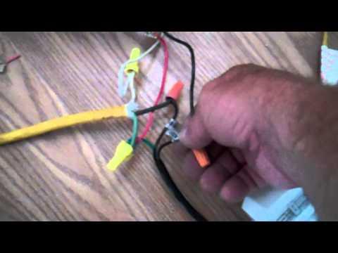 How to install a Homewerks LED Bluetooth Light Fan