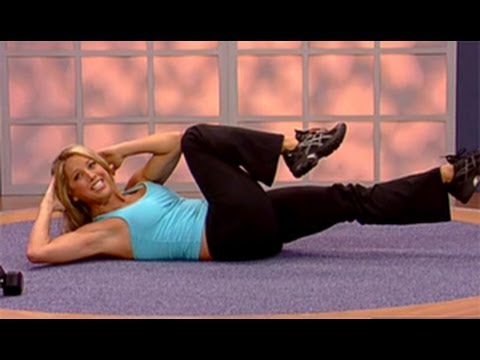 Denise Austin: Abs & Lower Body Workout