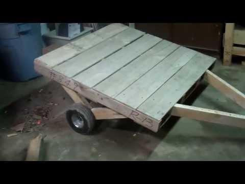 Mini Pallet Trailer
