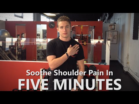 How To Alleviate Shoulder Pain From Weight Lifting In Five Minutes