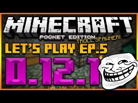 ★Minecraft Pocket Edition 0.12.1 - Let's Play Survival