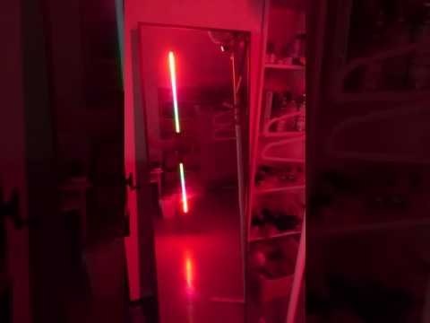 Double bladed DIY lightsaber