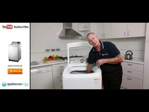 WA80F5G4DJW 8kg Top Load Samsung Washing Machine reviewed by expert - Appliances Online