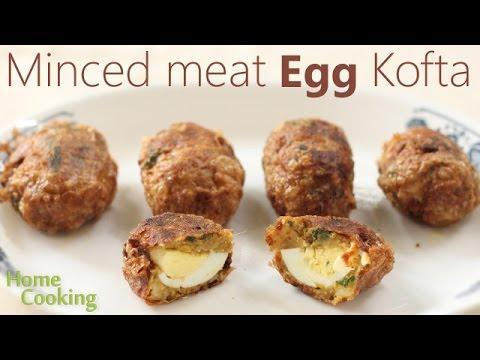 Minced meat Egg Kofta | Ventuno Home Cooking