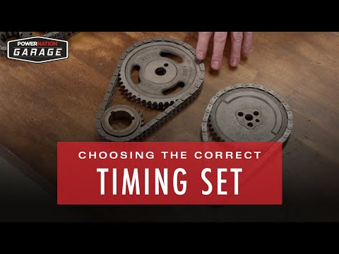 How To Choose The Correct Timing Set For Your Application