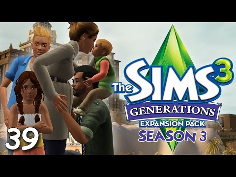 Let's Play: The Sims 3 Generations (S3) - Part 39 - Room Tour & Learning How To Drive!
