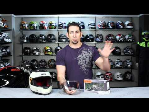 e-Tint AX-10 & MX-8 Tinting Faceshield Visor Review at RevZilla.com