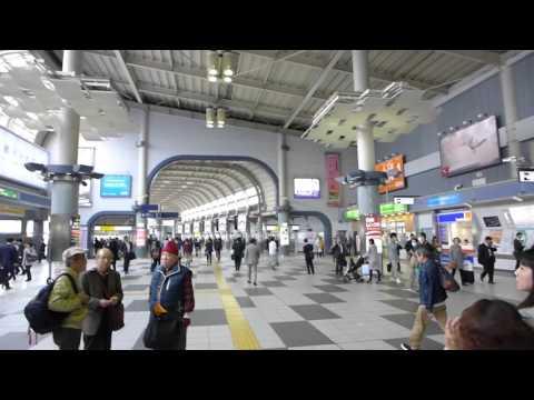 Tokyo, Japan - Shinagawa Station HD (2015)