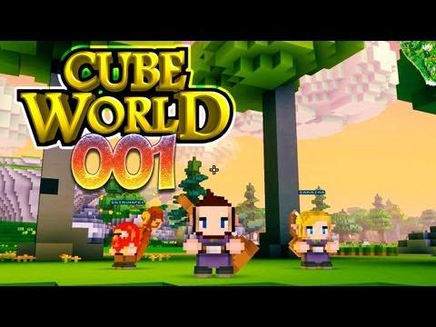 CUBE WORLD [HD+] #001 - Die Gefähr.. äh.. Die Gestörten ★ Let's Play Cube World