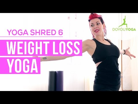 Weight Loss Yoga | Day 6 | 14 Day Yoga Shred Challenge