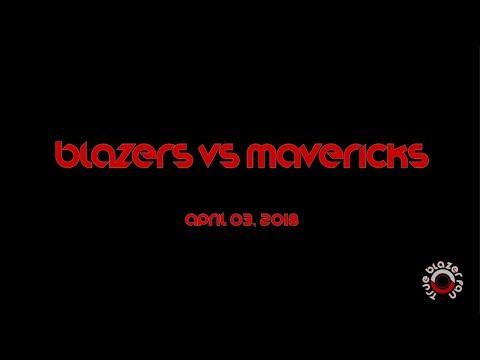 Portland Trail Blazers vs Dallas Mavericks - Full Game Highlights - April 3, 2018