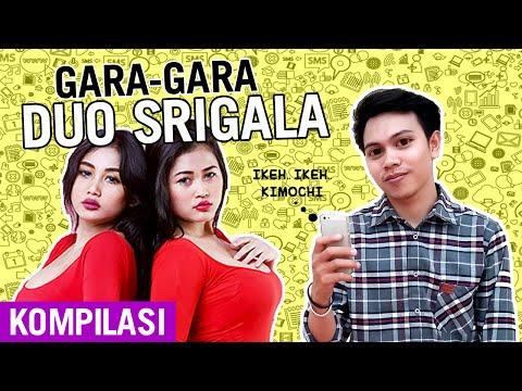 GARA-GARA DUO SRIGALA - Kompilasi Video Instagram Juju Onyols (Sikonyols)