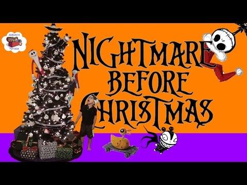 Nightmare Before Christmas Tree Decorating Jack Skellington Sally Oogie Boogie DIY Decorations
