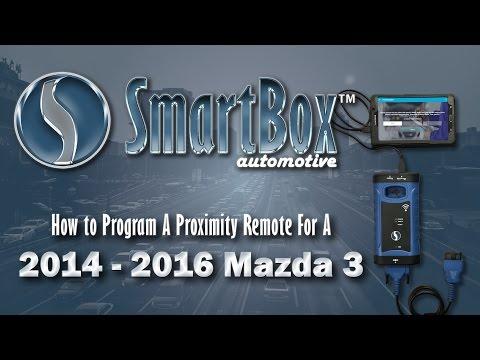 How to Program a Proximity Key to a 2014 - 2016 Mazda 3