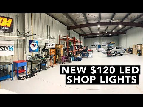 LED Shop Lights, FRS VS S2000, Buying a GTR - Tune Up EP03