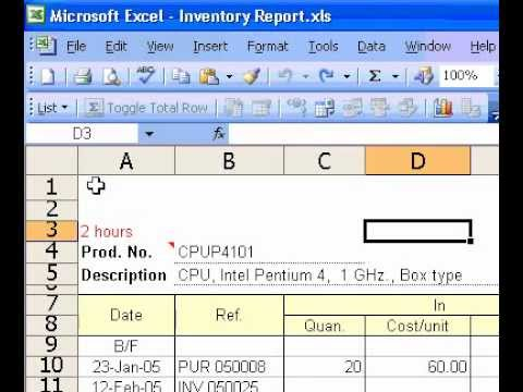 Microsoft Office Excel 2003 Add colour to sheet tabs