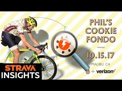 Strava Insights: Phil's Cookie Fondo '17 -