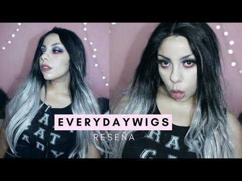 morrita falsa usa su primer peluca / RESEÑA EVERYDAYWIGS
