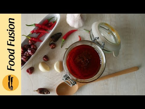Chinese  Red Chili Paste Recipe By Food Fusion