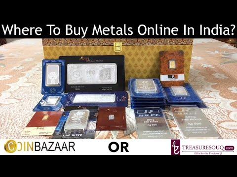 Comparing Bullion Stores: Coinbazaar vs Treasuresouq (India 2018)