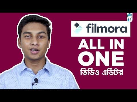 Wondershare Filmora Full Bangla Tutorial for Beginners   All in One!