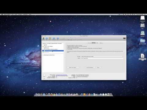 Creating an OS X Lion USB Flash Drive