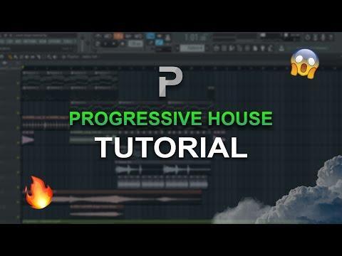 HOW TO MAKE: PROGRESSIVE HOUSE - FL Studio tutorial