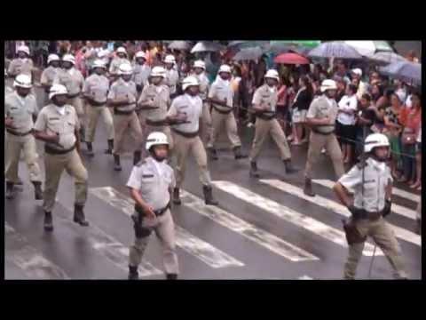 Vídeo: Tropa do 15° Batalhão no Desfile de 7 de Setembro em Itabuna