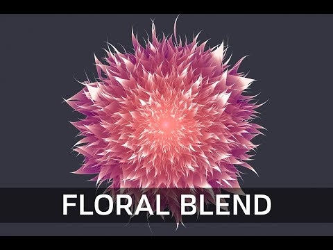Advance use of Effect Tools and Blend Tool - ( Floral Design - Illustrator Tutorial)