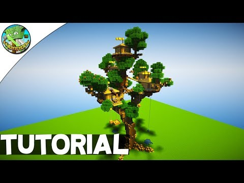 HOW TO BUILD A TREEHOUSE IN MINECRAFT