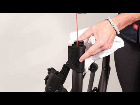 SERVICE IN SECONDS - Cleaning the UPPAbaby VISTA Fold Joint (for VISTA 2014-earlier)