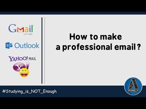 How to make a Professional Email Address?
