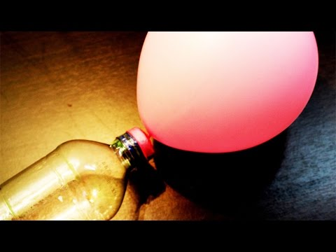 How to Make  simple Air Pump for Ballons (Home Made) - FlopCloud